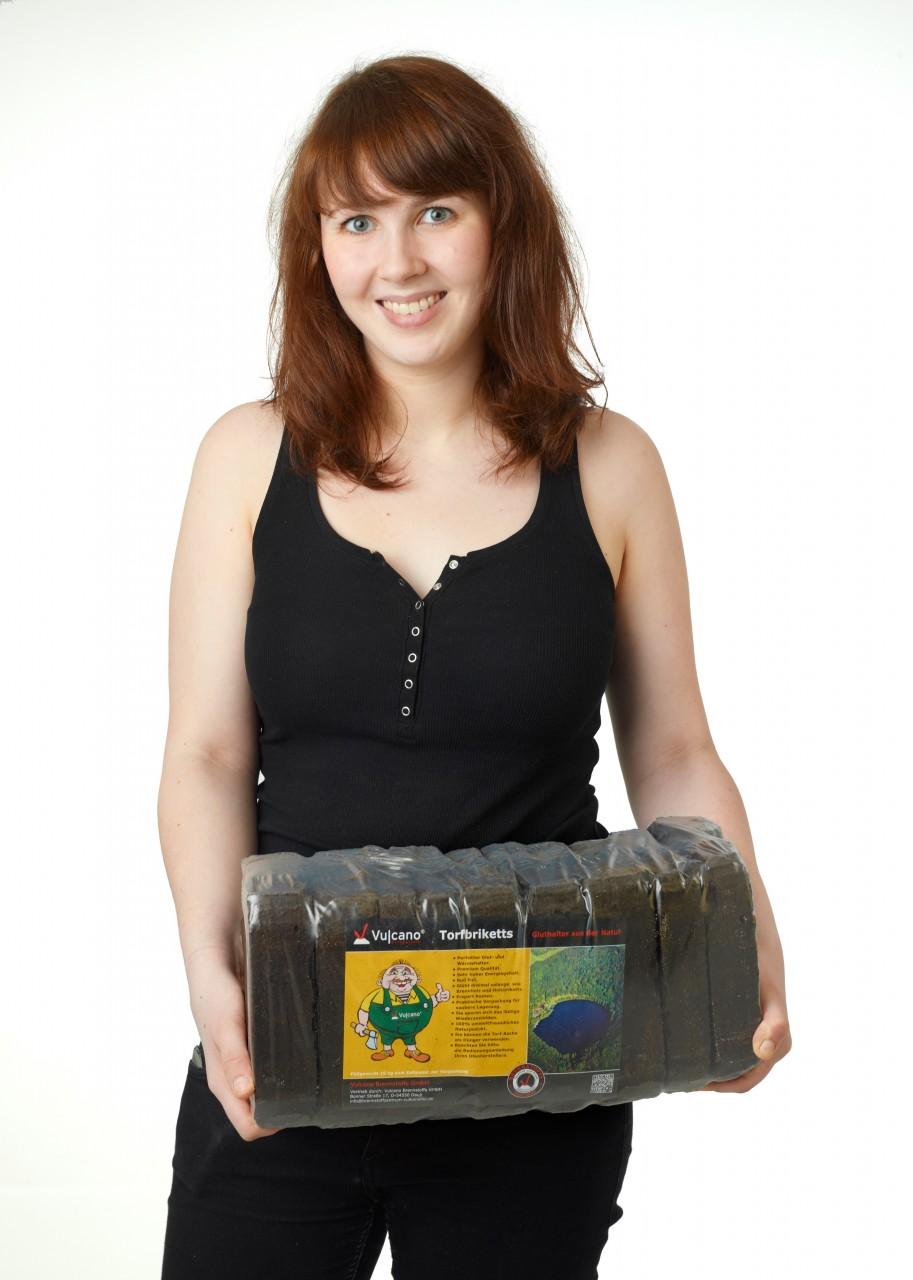 Torfbriketts 10 kg Paket