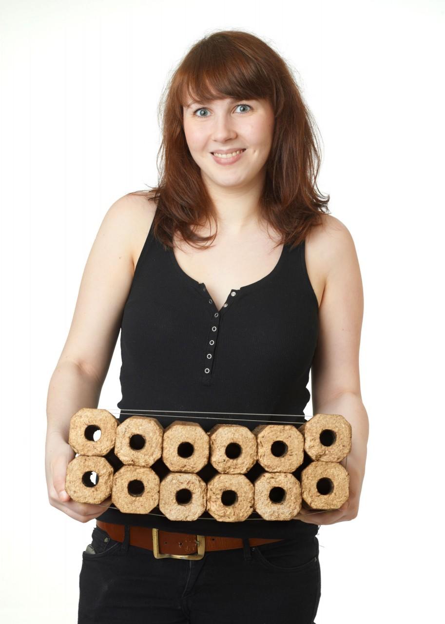 Aktionspreis bis 28.02.21 Holzbriketts PinyKay Buche/Nadelholz 960 kg auf Palette