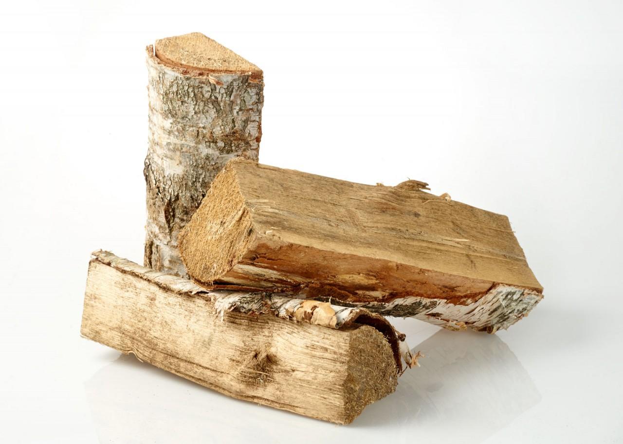 Birkenholz 25 cm, 3,2 Schüttraummeter auf Palette vorgelagert